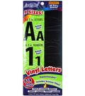 ArtSkills 214 pk Vinyl Letters, Numbers & Titles Repositionable-Black