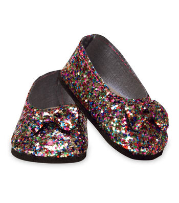 Springfield Boutique Collection Glitter Flats-Multicolor