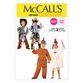 McCall\u0027s Pattern M7226 Childrens\u0027 Western & Native American Costumes
