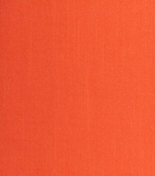Amaretto Linen Fabric -Flame