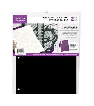 "Crafter's Companion 8.5""X11"" Magnetic Storage Panels 2/Pkg-Large"