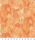 Keepsake Calico Cotton Fabric 44\u0027\u0027-Tangerine Cato