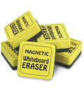 The Pencil Grip, Inc. 24 pk 2\u0027\u0027x2\u0027\u0027 Magnetic Whiteboard Erasers-Yellow