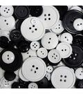 Favorite Findings Big Bag of Buttons-Tuxedo