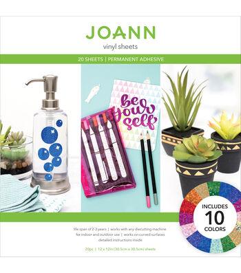 Joann Sheet Glitter Holographic Vinyl Pack