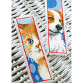 Vervaco Counted Cross Stitch Bookmark Kit-Cat & Dog