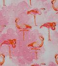 Speciality Cotton Fabric -Flamingo