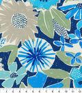 PKL Studio Outdoor Fabric-Catchin\u0027 Rays Cobalt