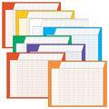 Jumbo Variety Pack Horizontal Incentive Charts, 22\u0022 x 28\u0022, Pack of 8