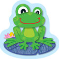 Funky Frogs Mini Cut Outs 36/pk, Set Of 6 Packs