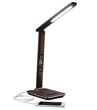 OttLite Wellness Renew LED Desk Lamp-Brown