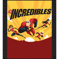Disney Incredibles 2 No-Sew Fleece Throw 48\u0027\u0027-Flying Family