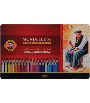 Mondeluz Aquarell Watercolor Pencils 36Pk