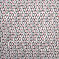 Super Snuggle Flannel Fabric-Coral & Gray Hearts & Dots