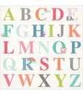 Kaisercraft Little One ABC Spot Varnish Cardstock 12\u0027\u0027x12\u0027\u0027