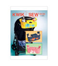 Kwik Sew Pattern K4184 Rabbit, Fox & Elephant Stroller Organizer Bags