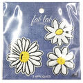 Fab Lab Wearables 3 pk Daisy Iron-on Appliques