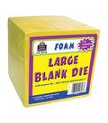 Teacher Created Resources Large Foam Blank Die, Pack of 5