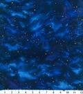 Premium Cotton Fabric 44\u0027\u0027-Stars on Navy