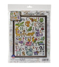 Design Works ABC Animals Counted Cross Stitch Kit