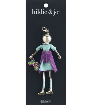 hildie & jo Spring Doll Pendant-Orchid
