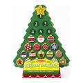 Countdown To Christmas Wooden Seasonal Calendar-Christmas Tree