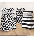 K&Company Black And White Dot Gift Sacks