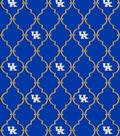 University of Kentucky Wildcats Cotton Fabric 44\u0022-Trellis Logo
