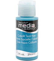 DecoArt Media Fluid Acrylic Paint 1oz Series 5 , , hi-res