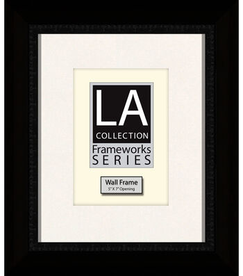 LA Collection Frameworks Series Wall Frame 8''x10''-Black