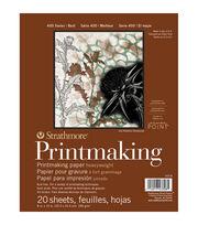 Strathmore Printmaking Paper Pad 8''x10'' 20 pcs, , hi-res