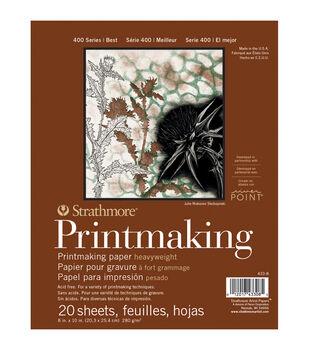 Strathmore Printmaking Paper Pad 8''x10'' 20 pcs
