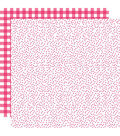 Bella Blvd Plaids & Dotty Double-Sided Cardstock 12\u0022X12\u0022-Punch