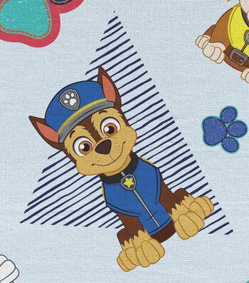 """Nickelodeon Paw Patrol Flannel Fabric 43""""-Hero Pups Rule"""