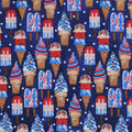Snuggle Flannel Fabric -July 4th Sweet Treats