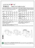 Mccall Pattern V8832 Xsm (4-6) -Vogue Pattern