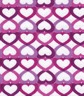 Snuggle Flannel Fabric -Infinity Hearts