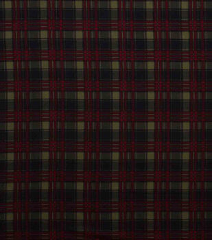 Super Snuggle Flannel Fabric-Fishing Plaid