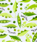 Snuggle Flannel Print Fabric -Sweet Pea