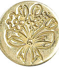Manuscript Decorative Seal Coin-Spring Flowers