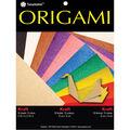 Fold \u0027Ems Origami Paper 5.875\u0022 50/Pkg- Kraft with Assorted Colors