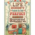 Design Works Crafts 8\u0027\u0027x12\u0027\u0027 Counted Cross Stitch Kit-Life is Wonderful