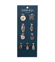 hildie & jo Zinc Alloy & Iron Nature Charm Pack, , hi-res