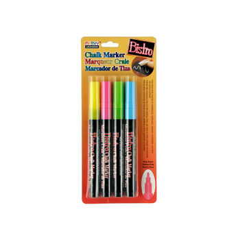 Bistro Chalk Marker Fine Point Set 4 Pkg