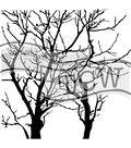 The Crafter\u0027s Workshop Jaime Echt 6\u0027\u0027x6\u0027\u0027 Stencil-Branches Reversed