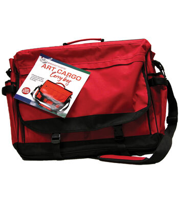 Royal Brush Art Cargo Carry Bag-16-1/2''x21-3/4'' Red