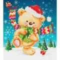 Diamond Dotz Diamond Embroidery Facet Art Kit 13.75\u0027\u0027X17\u0027\u0027-Snow Dance