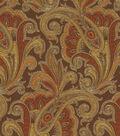 Waverly Upholstery Fabric-Tamsin/Henna