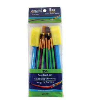 Artskills 25pcs Paint Brush Set