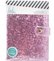 Heidi Swapp Fresh Start Personal Memory Planner-Pink Glitter, , hi-res